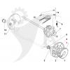 Kugghjul framhjul Multiclip 50S m.fl. 122120105/2