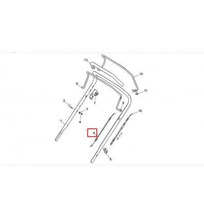 STIGA Motorbromsvajer 181030053/0 Combi 53 SEQ, COLLECTOR 46 B, Combi 53 SQ BW mfl. - 1