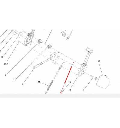 TORO Kabel 105-9989 - 1